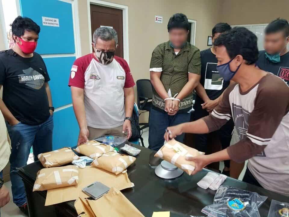 BNNP Jatim Ungkap Sindikat Narkotika Dari Dunia Sepakbola Tanah Air