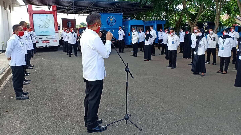SATGAS COVID-19 BNNP Aceh Gelar Pemeriksaan Kesehatan Pejabat dan Staf BNNP Aceh