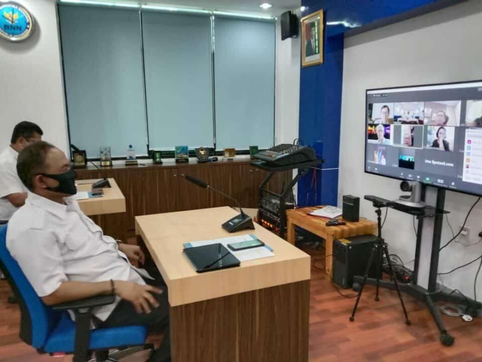 Bahas P4GN, Kepala BNN RI Adakan Coffee Morning Secara Virtual Dengan Sejumlah Pemred Media