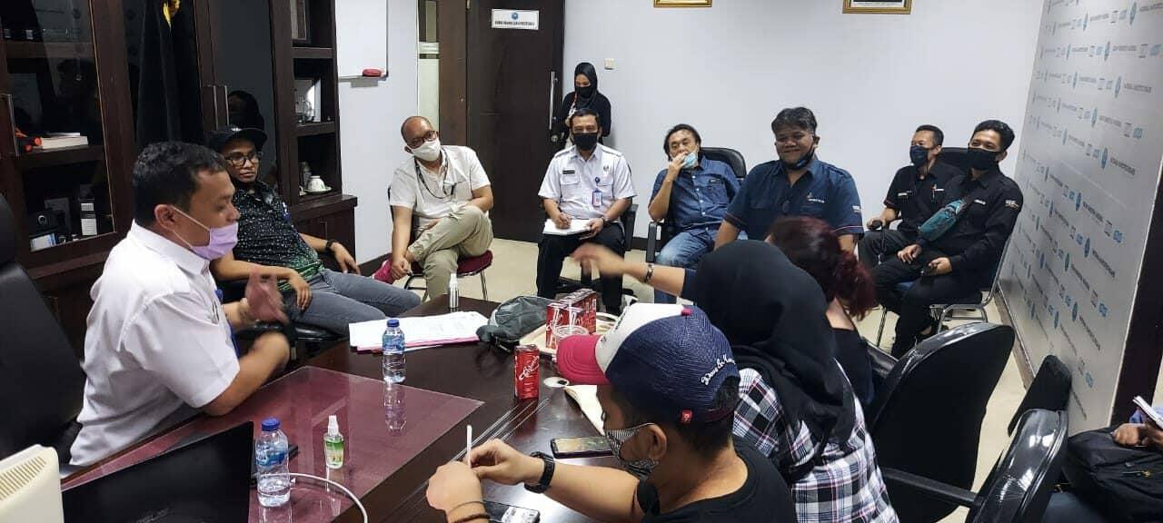 Biro Humpro Gelar Rapat Kesiapan Konser SLANK Dalam Rangka HANI 2020