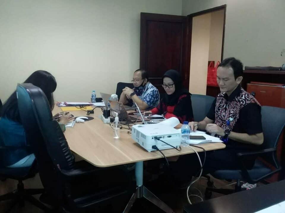 Rapat Kerja Sinergi pada Kawasan rawan dan rentan Narkoba di Kalimantan Barat melalui Teleconference (Aplikasi Zoom)