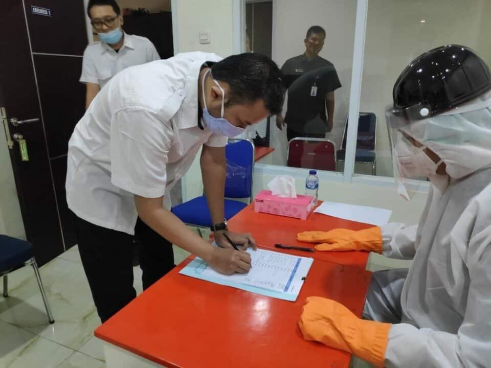 Kementerian PUPR Implementasikan Inpres Nomor 2 Tahun 2020 dengan Tes Urine