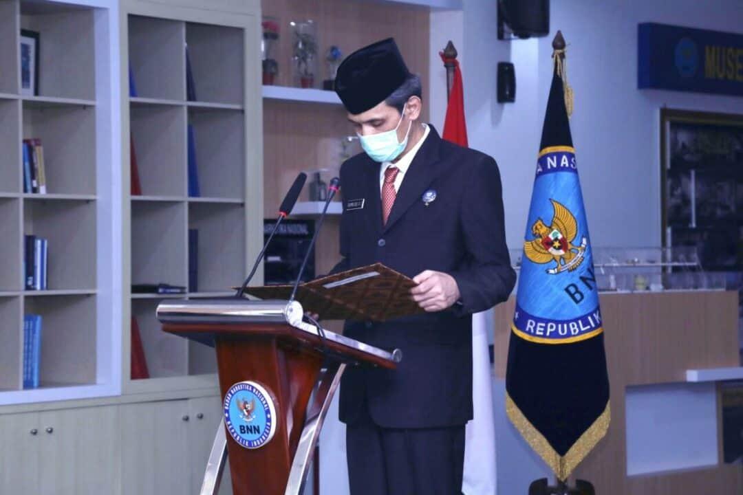 Kepala Biro Kepegawaian Lantik 16 Pejabat Fungsional Baru