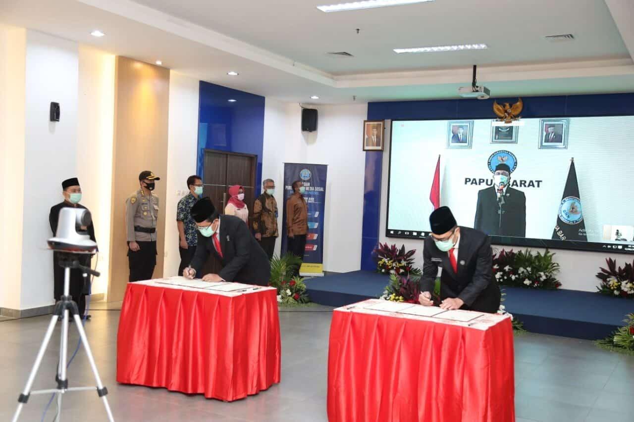 Kepala BNN RI Lantik Sestama, Direktur Wastahti Dan Kepala BNNP Papua Barat