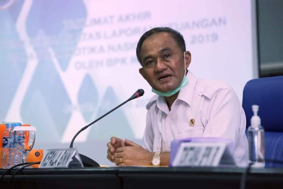 Exit Briefing Akhiri Pemeriksaan BPK Di BNN