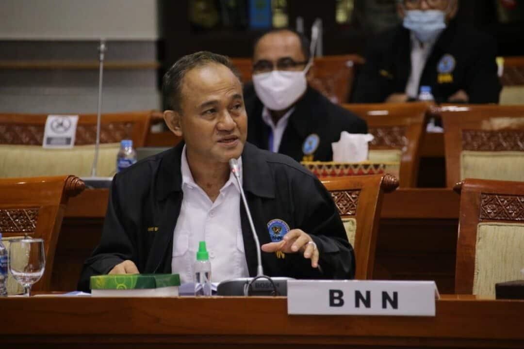 Rapat Dengar Pendapat Dengan DPR RI, BNN Siapkan Rancangan Kerja Sinergis P4GN