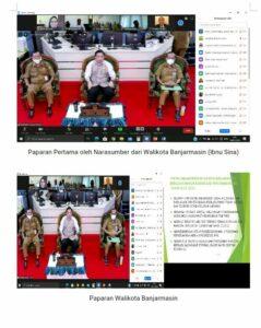 Kegiatan Virtual Rapat Kerja dalam rangka Sinergi Stakeholder pada Kawasan rawan dan rentan narkoba di Provinsi Kalimantan Selatan