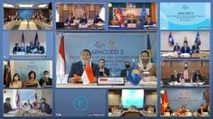 Karo Humpro BNN RI Bersama Anggota DPR RI Hadiri Rapat AIPACODD Tahun 2020