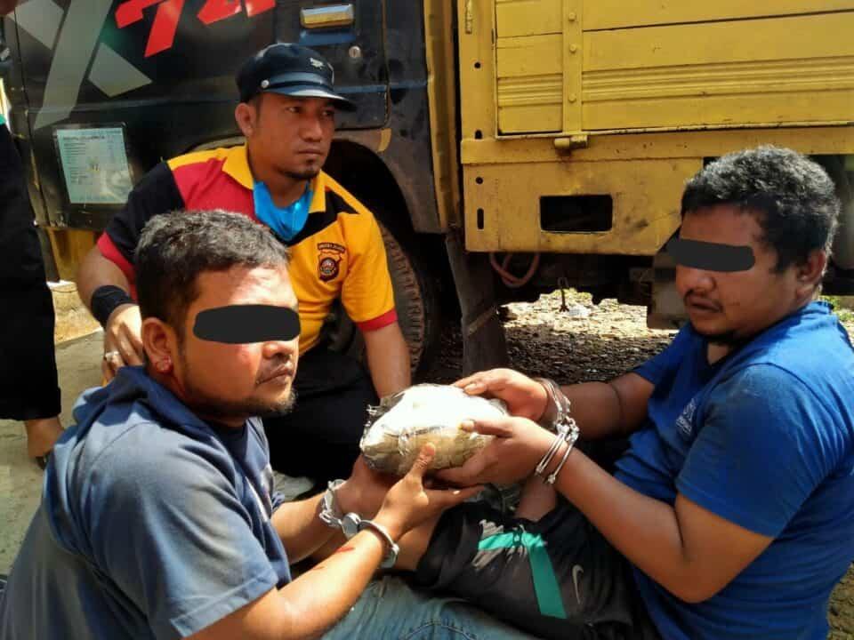 BNNP Sumsel Gagalkan Penyelundupan Sabu Asal Aceh