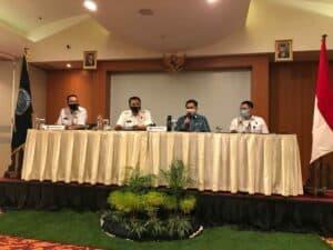 Pembukaan Kegiatan Bimbingan teknis oleh Kepala BNNP Kalimantan Selatan