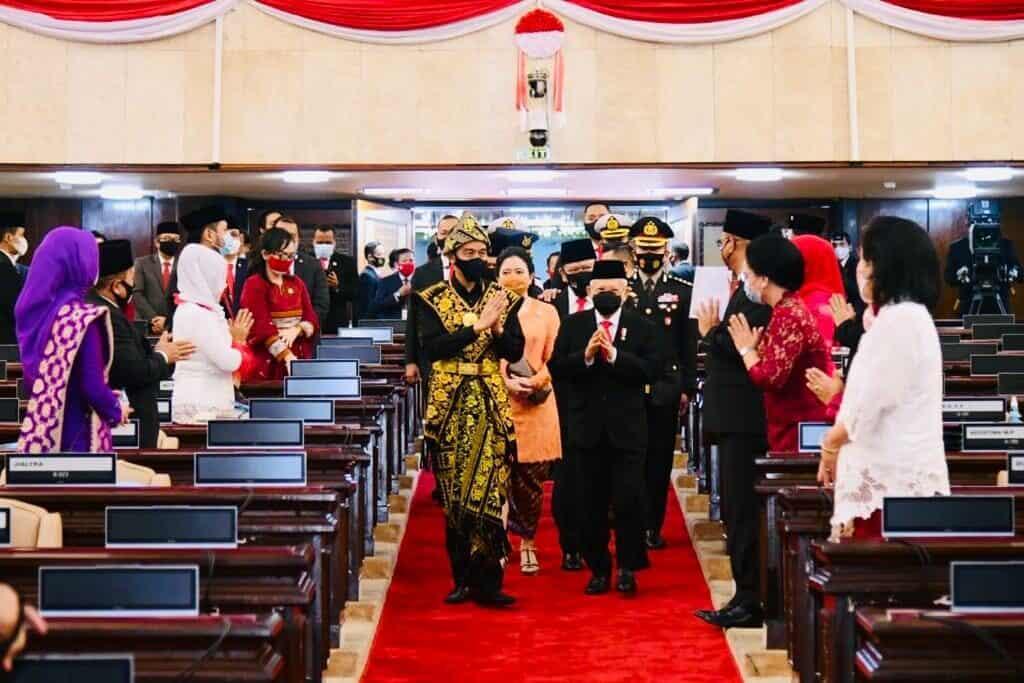 """""""Pidato Presiden RI Pada Sidang Tahunan MPR RI Dan Sidang Bersama DPR RI dan DPD RI Tahun 2020"""""""