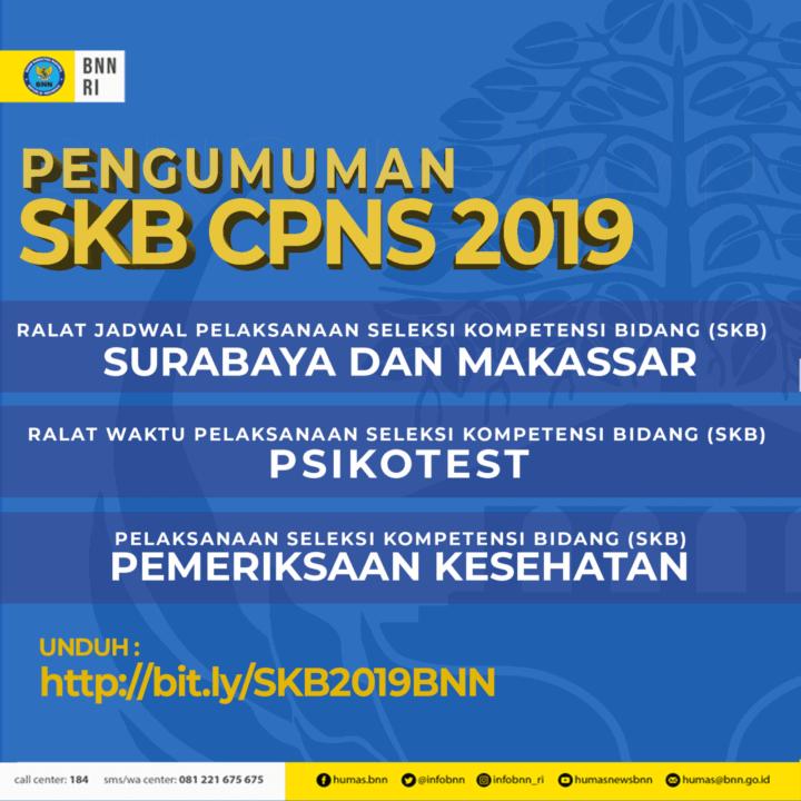 Pengumuman Jadwal Pelaksanaan SKB CPNS 2019 di Surabaya dan Makkasar, Psikotes Serta Pemeriksaan Kesehatan