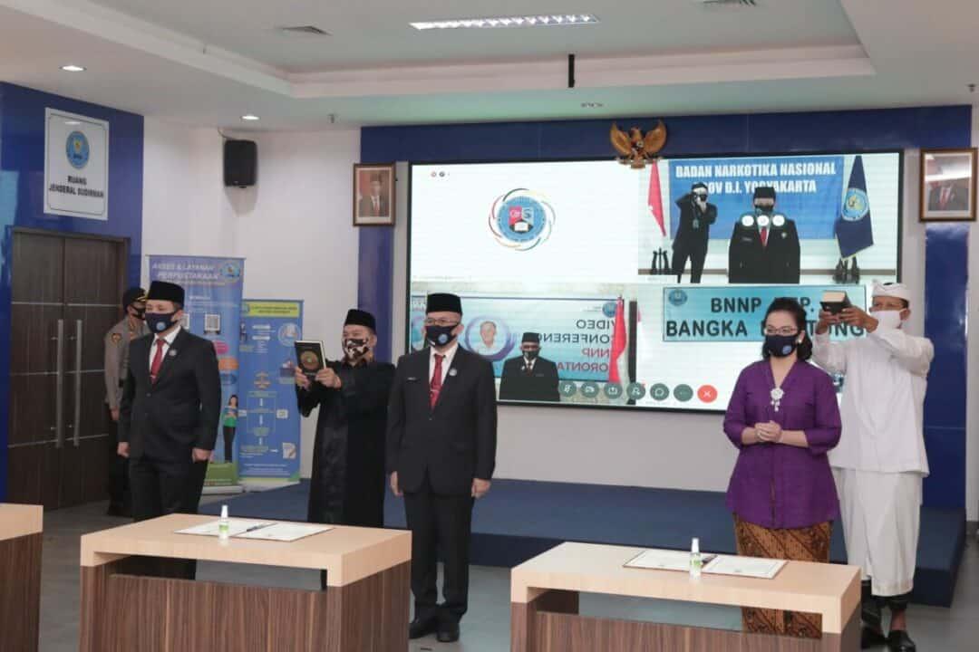 Kepala BNN Lantik 6 Pejabat Pimpinan Tinggi Pratama