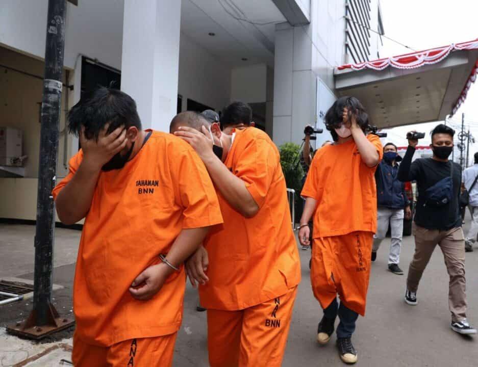 "Tim Gabungan BNN RI Ringkus 4 Orang ""BNN Gadungan"" Yang Peras Masyarakat"