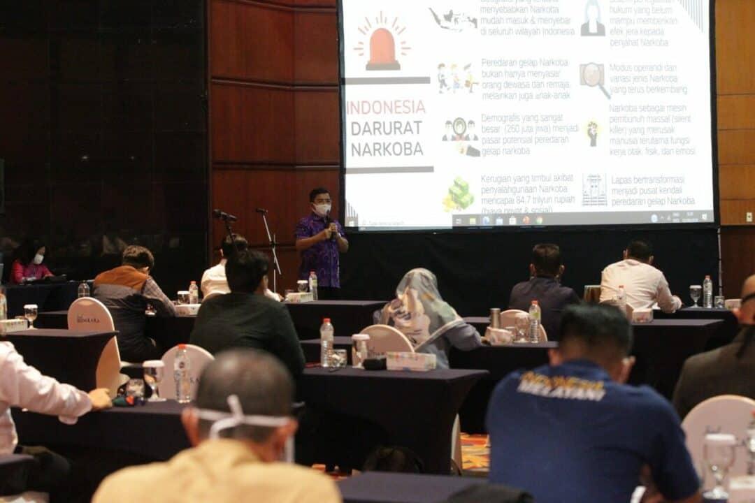 Relawan Dari Kalangan Pekerja, Garda Terdepan Tanggulangi Narkoba