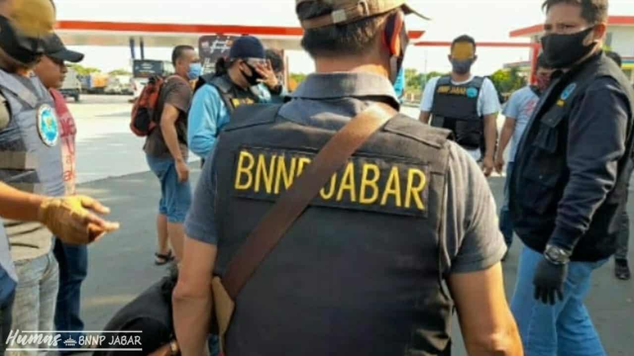 BNNP Jabar Ungkap 3 Kilo Sabu
