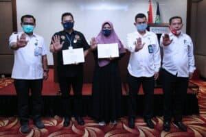 Terima Pin Dan Sertifikat, 120 Orang Resmi Jadi Penggiat Anti Narkoba Provinsi Sumut