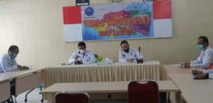 Pembukaan Audit Pada BNNP Lampung Beserta Jajarannya