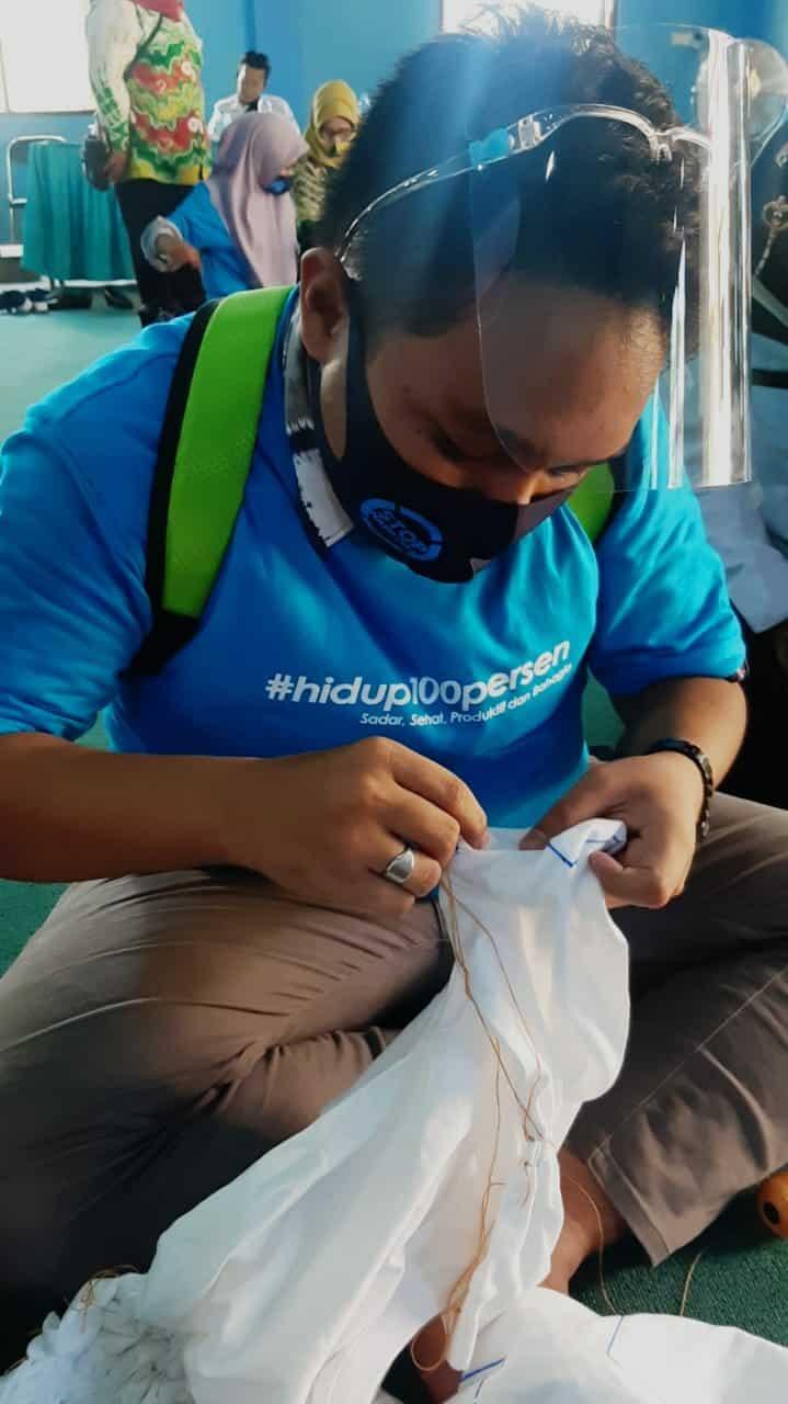 Kegiatan Pemberdayaan Alternatif melalui Pengembangan Wirausaha bagi Masyarakat Kawasan rawan dan rentan Narkoba di Provinsi Kalimantan Selatan