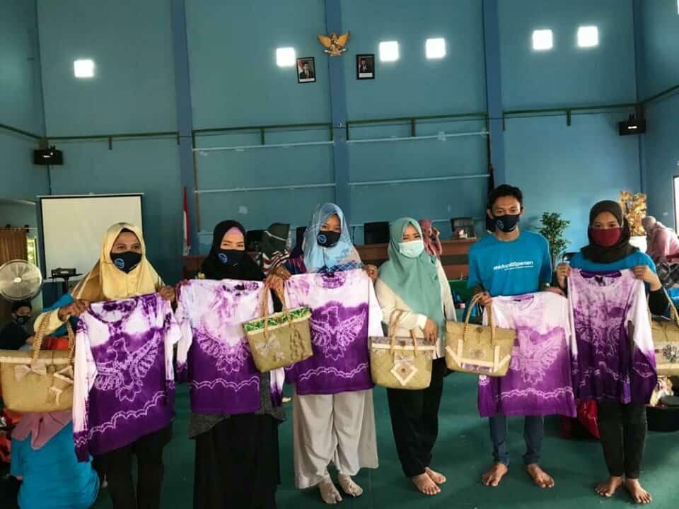 BNN berdayakan Masyarakat pada Kawasan rawan Narkoba di Kalimantan selatan dengan memberikan Pemberdayaan Alternatif melalui Pengembangan Wirausaha