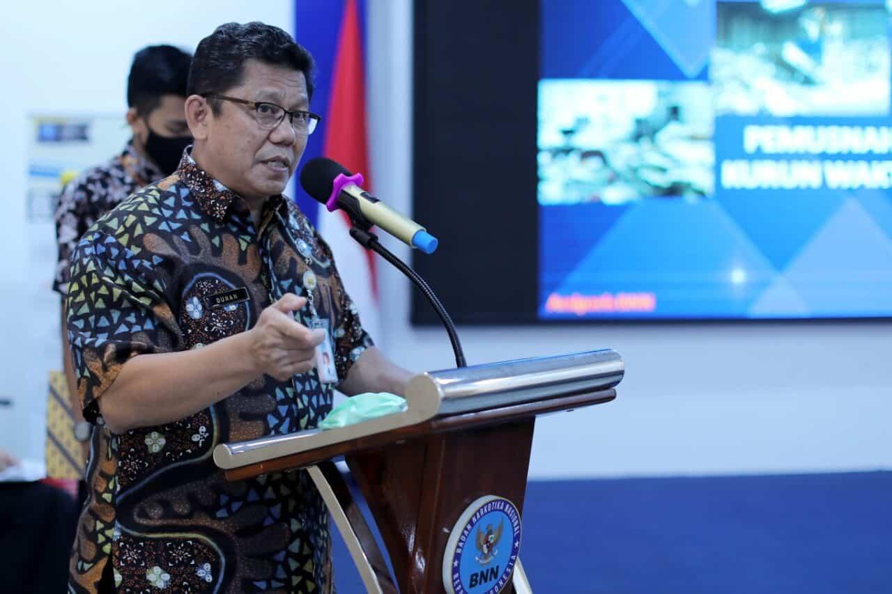 BNN Musnahkan 2.920 Arsip Inaktif Kurun Waktu 2002-2018