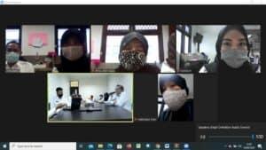 Inspektorat Utama BNN melakukan Audit secara Virtual pada Balai Rehabilitas Tanah Merah T.A 2019 dan T.A Bulan Berjalan 2020.