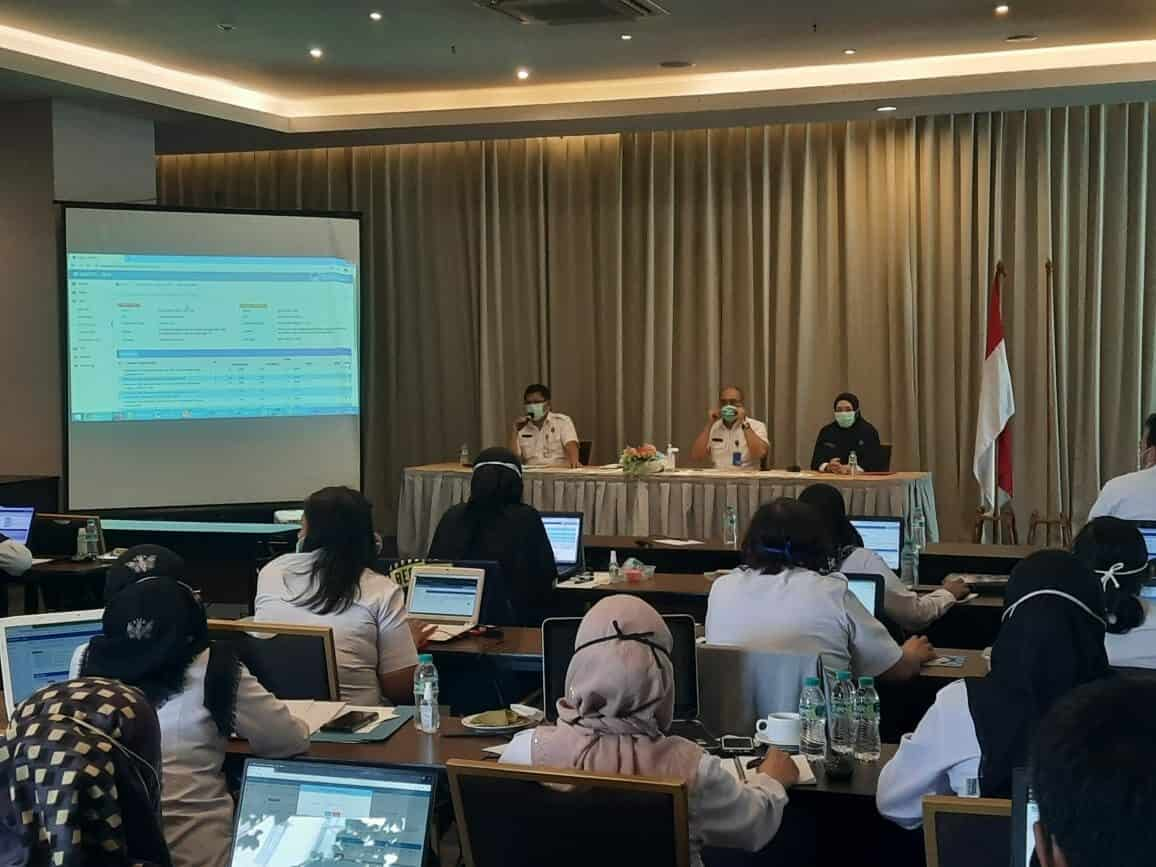 Kegiatan Pengawasan dan Pengamanan dalam Acara Sosialisasi skp dan LKH dalam Aplikasi Simpeg