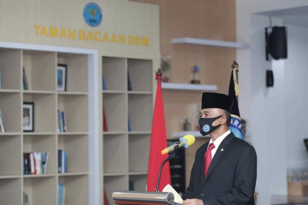 Kepala BNN RI Lantik Direktur TPPU Dan Kepala BNNP Kalsel