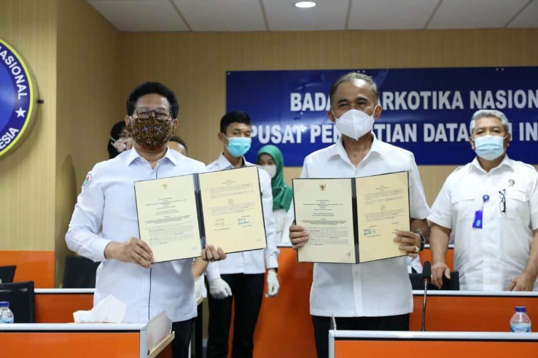 BNN RI dan Kementerian PDTT Bangun Sinergitas Wujudkan Desa Bersinar