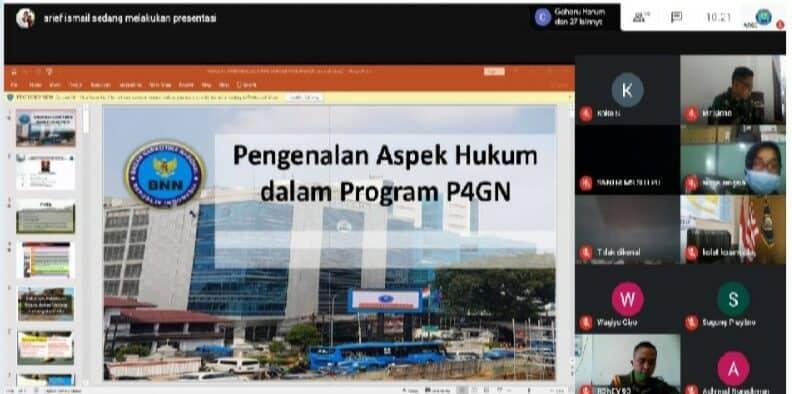 """Audiensi Virtual BNN RI Dan TNI AL, Bahas """"TAT"""" Dan Penanganan Kasus Narkoba"""