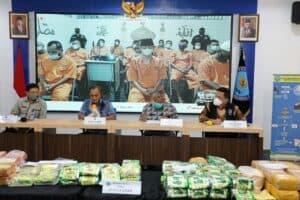 BNN RI Ungkap Kasus Narkoba Dengan Barang Bukti 87.415,4 Gram Sabu, 70.227 Butir Ekstasi Dan 19 Tersangka