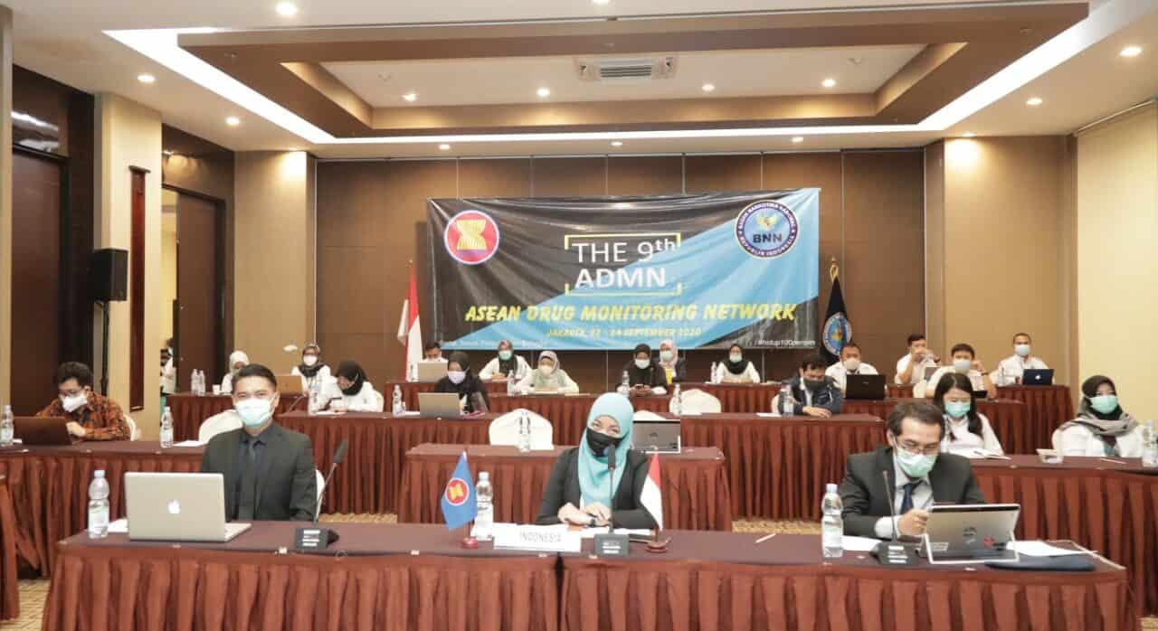 Direktur ASEAN Narco Apresiasi Pelaksanaan 9th ADMN