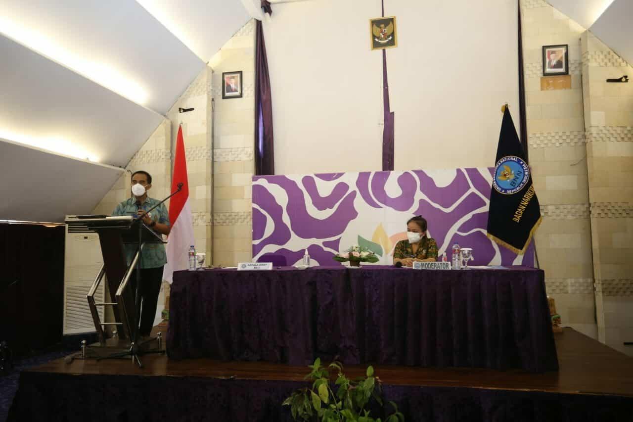 Kepala BNNP Bali Ajak Dosen Dan Mahasiswa Lebih Aktif Dalam Upaya P4GN