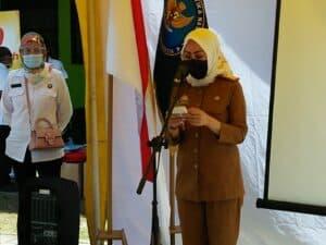 Sambutan Deputi Dayamas, Kepala BNNP Sulsel dan Kepala Dinas UMKM Kota Makassar pd kegiatan Pengembangan Wirausaha di Kelurahan Pampang Panakkukang