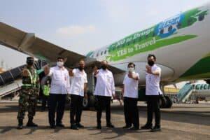Kampanye Anti Narkoba Dan Terbang Bahagia Di Udara