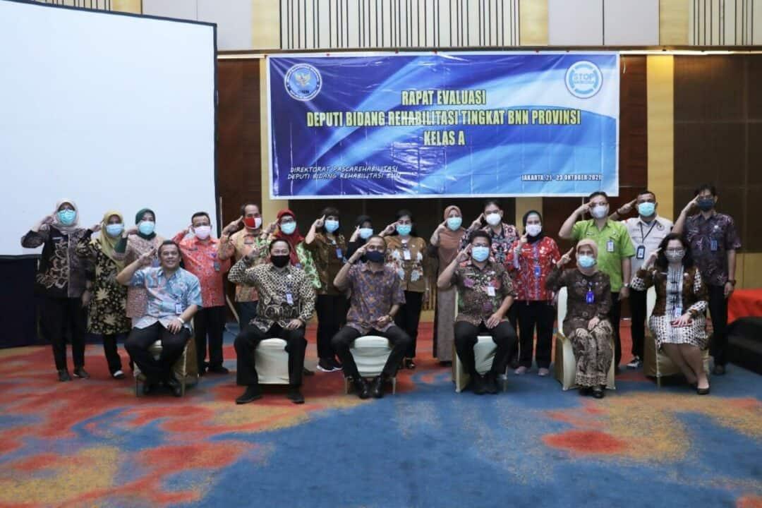 Kepala BNN RI Buka Rapat Evaluasi Bidang Rehabilitasi Tingkat Provinsi