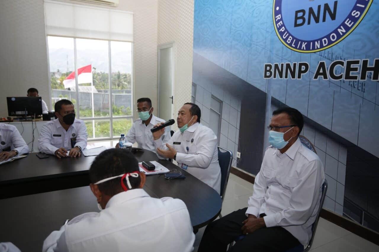 Deputi Dayamas BNN RI Asistensi P4GN Di BNNP Aceh