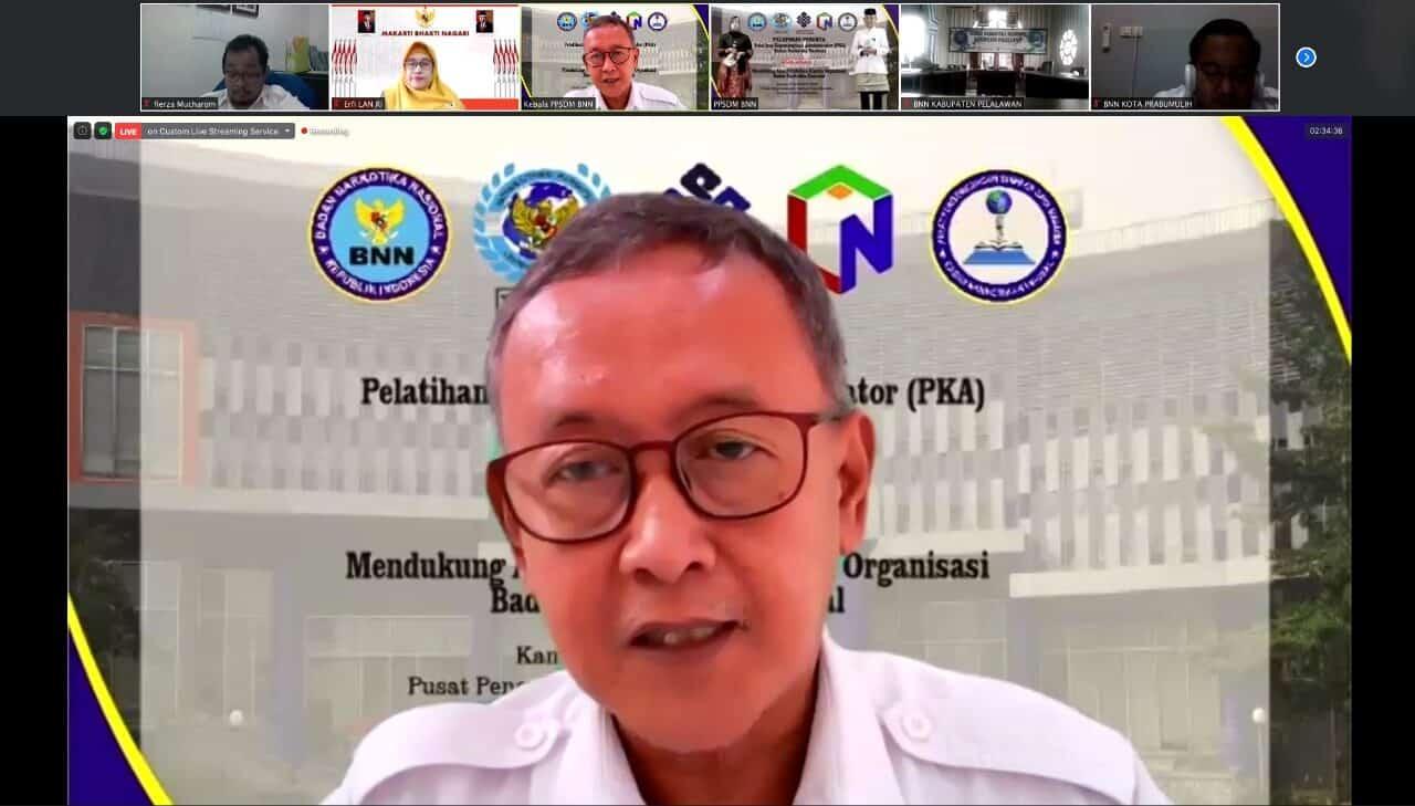 PPSDM BNN Lepas Peserta Pelatihan Kepemimpinan Administrator BNN Angkatan 1