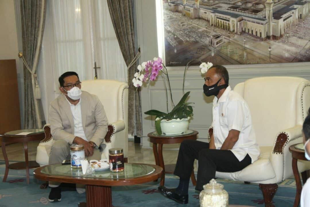 KA BNN RI Berkunjung ke Gubernur Jawa Barat