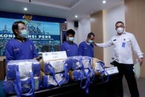 Hasil Operasi Laut Interdiksi Terpadu 2020 BNN-Polair-Bea Cukai