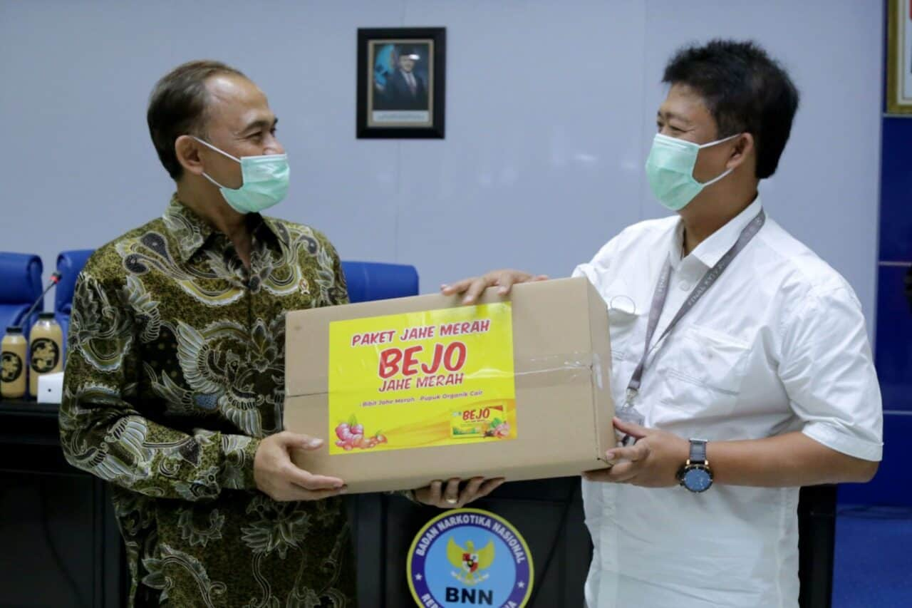 Kepala BNN Harapkan Muncul Banyak Wirausahawan Sukses Dari Pelatihan Budidaya Jahe Merah