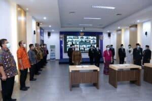 BNN Lantik Pejabat Pimpinan Tinggi Pratama dan Ratusan Pejabat Fungsional Berbasis Sistem Merit