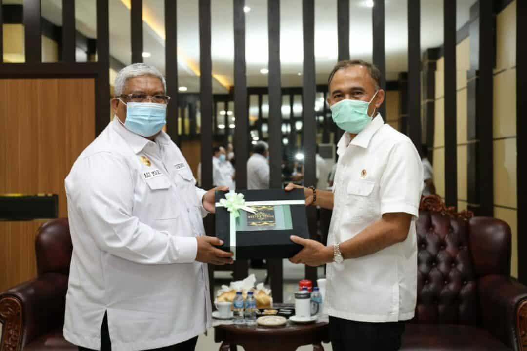 Kepala BNN RI Dan Gubernur Sultra Jalin Sinergitas Dukung Upaya P4GN Dan Rehabilitasi