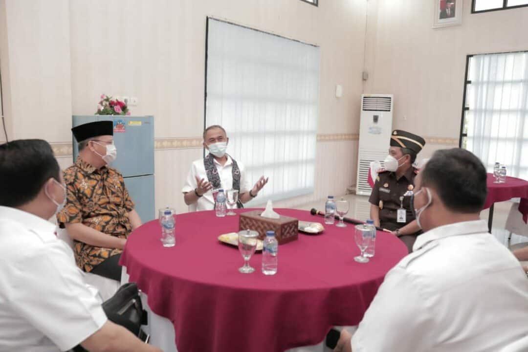 Sinergitas Antara BNN Dengan Lembaga Pemerintah Daerah dan Penegak Hukum Provinsi Bengkulu