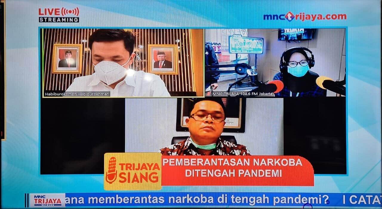 """Karo Humpro BNN : """"Meski Pandemi, Upaya P4GN Tetap Dalam Intensitas Tinggi"""""""