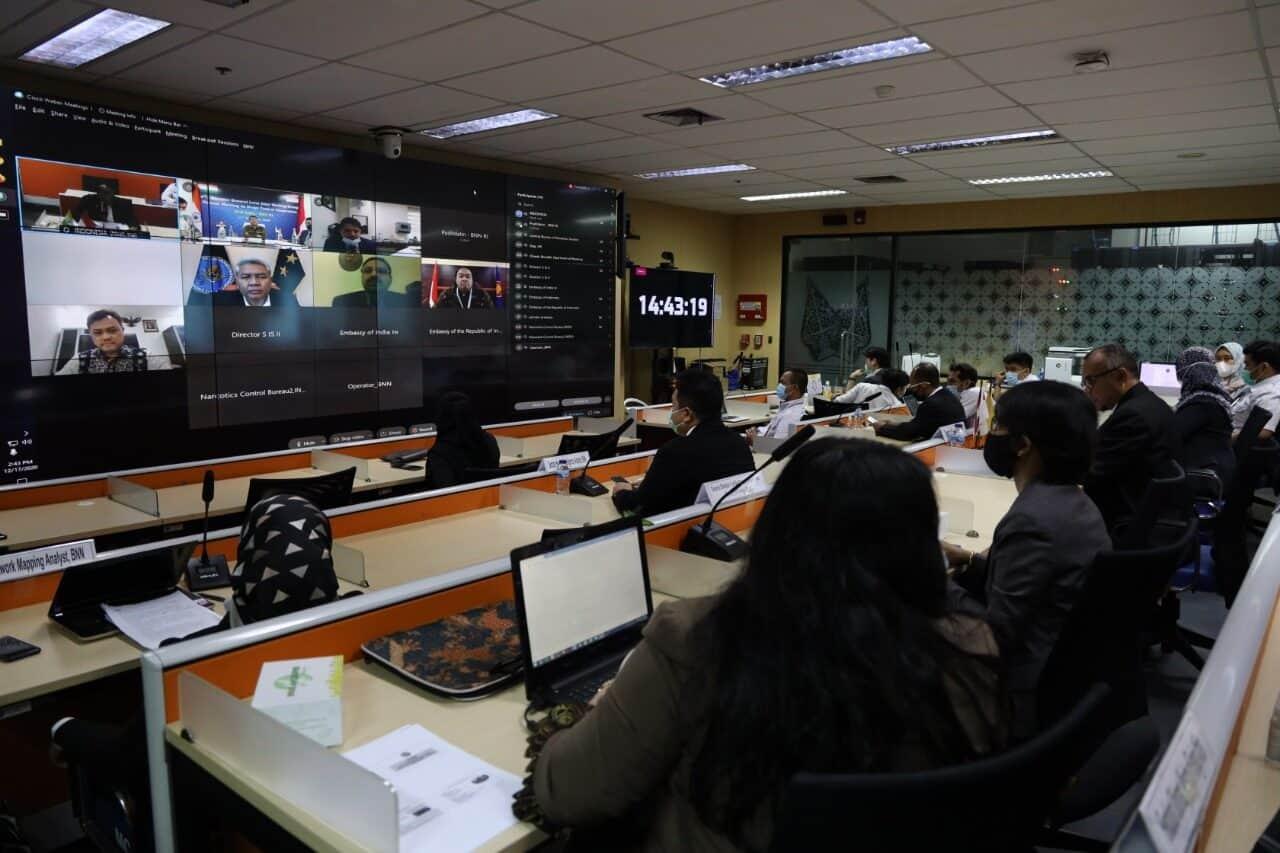 BNN RI dan NCB India Bahas Kerja Sama Penanggulangan Narkoba