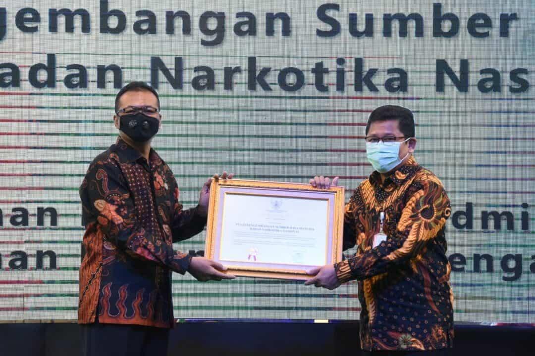 BNN Terima Sertifikasi Akreditasi Lembaga Pelatihan