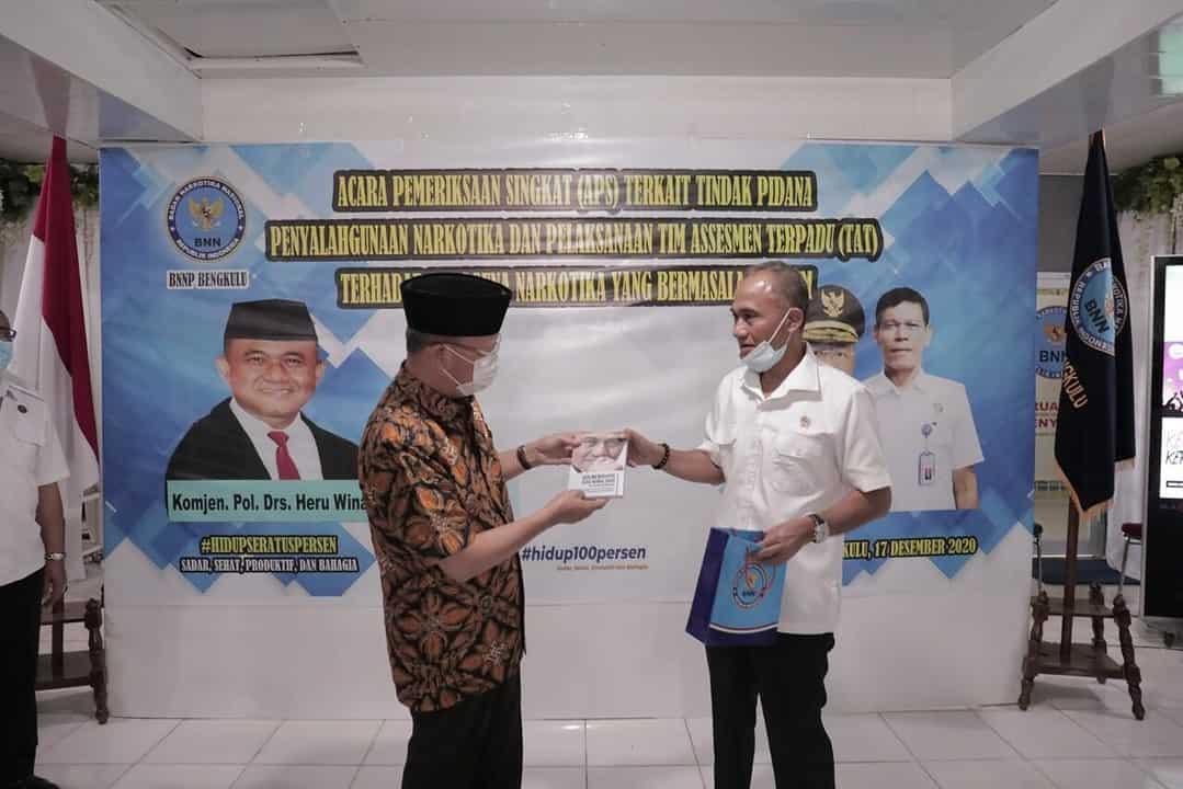 Bahas Tentang APS dan Pelaksanaan TAT, Kepala BNN Sambangi BNNP Bengkulu