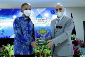 Kepala BNN RI Beri Penghargaan Kepada Dubes Dan Mitra Asing Yang Dukung UpayaP4GN