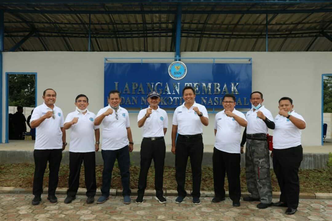 Tingkatkan Kualitas SDM BNN Bangun Computer Based Training Room dan Lapangan Tembak
